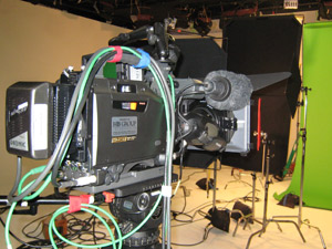 Broadcast - rental and staging