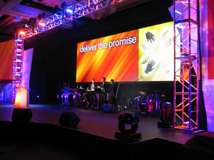 Special Events & Galas - rental and staging